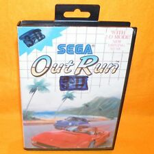 VINTAGE 1980s SEGA MASTER SYSTEM OUT RUN 3-D 3D WITH 2-D MODE CART GAME RARE