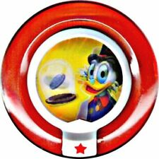 Disney Infinity Rare TRU Excl Holographic Scrooge McDuck's Lucky Dime Power Disc