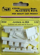 CMK 1/32 Junkers Ju88A Bulkhead with Radio Sets for Revell # 5024