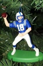 Peyton Manning Indianapolis Colts Jersey #18 Christmas Tree Ornament Keepsake