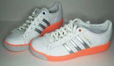 adidas Originals Forest Hills sneakers Men's 9 White Silver Orange EE5740 No Box