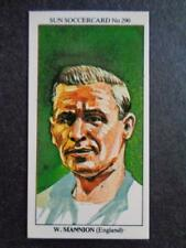 LE SOLEIL soccercards 1978-79 - Wilf Mannion - ANGLETERRE #290