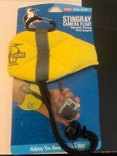 Chums Stingray Camera Float-Hi Viz Yellow Wrist Strap! Store Display Model