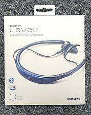 Samsung Level U Bluetooth Wireless In-ear Headphones with Microphone, Blue Saffa