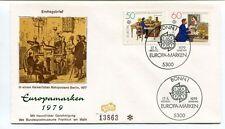 1979 Ersttagsbrief Europamarken Bonn Deutsche Bundespost Berlin Europa Marken