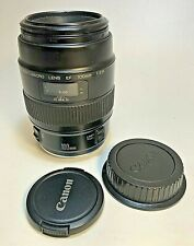 Canon EF Macro 100mm F/2.8 Lens Nice!++ Made In Japan Tested - Full Frame!