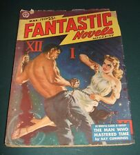 Fantastic Novels Magazine for March 1950 Ray Cummings Science Fiction Pulp