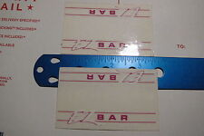 NOS BMX Freestyle SKYWAY EZ Bar handlebar  decals