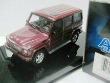 WOW EXTREMELY RARE Mercedes W463 G-Wagon 500GE LWB 1999 W.Red 1:43 AutoArt-Spark