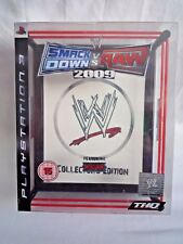 PLAYSTATION 3 / WWE SMACKDOWN VS RAW 2009 COLLECTORS EDITION NEW & SEALED