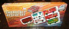 Matchbox Superfast G-20 Emergency Set - Mercury Fire Chief Car SHRINKWRAPPED MIB