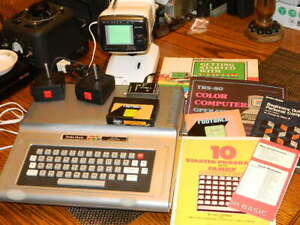 VINTAGE Tandy Radio Shack TRS-80 CoCo Micro Computer System in Box WORKING