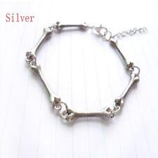 Europe America Jewelry Vintage Bone Skeleton Curved Cuff Bangle Bracelet