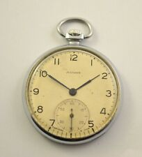 MOLNIJA USSR SOVIET POCKET WATCH MOLNIA  15 JEWELS!