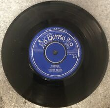 Count Zebra 45 Bedbug / Cat-O-Nine on Go Calypso Label Mint-