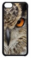 Cute Owl Feathers Pattern Black or White Hard Case Cover For Apple iPod 4 5 6
