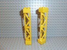 LEGO® City Stadt Baustellen Teile 2x Pfeiler 2x2 Stütze gelb 58827 7633 F1073