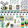 Football Birthday Party Boys Soccer Decorations Tableware Accessories