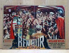 BEN HUR fotobusta poster affiche Charlton Heston A Tale of the Christ Wyler AM7