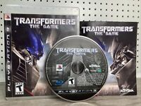 Transformers The Game Sony PlayStation 3 PS3 Complete Autobots Fighting Game