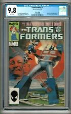 Transformers #1 (1984) CGC 9.8  White Pages  3rd Print  Mantlo - Springer