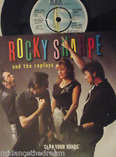 "Rocky Sharpe & The repeticiones-Clap sus manos - 7"" SINGLE PS"