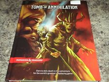 Tomb of Annihilation Dungeons and Dragons Adventure Campaign HC Book 5th Edition