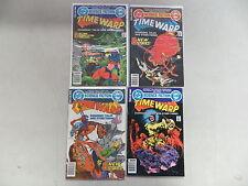 TIME WARP 4 ISSUE BRONZE COMIC RUN LOT 1 2 3 4 DC 1.00 GIANT COMICS