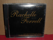 Rachelle Ferrell - Individuality (Can I be Me?) PROMO CD Rare R&B