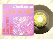 BEATLES TICKET TO RIDE YES IT IS apple 3c 0069 04458 Italy issue........ 45rpm