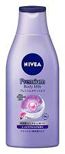 NEW NIVEA Premium body milk 200g Deep & Long Lasting Moisture Rose From Japan