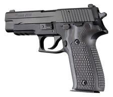 Hogue Sig Sauer P226 Grips Pirahna G10 G-Mascus Black / Gray  (26137-BLKGRY)