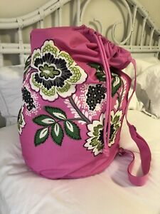 VERA BRADLEY ~ Laundry Bag ~ PRISCILLA PINK ~ Duffel Travel College/Dorm!