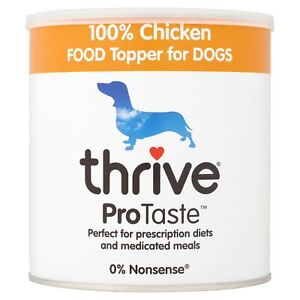 Thrive ProTaste 100% Chicken food Toppers for Dogs 170g food enhancer