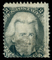 MOMEN: US STAMPS #84 USED PF CERTIFICATE