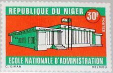 NIGER 1969 223 219 Natl. Administration College Verwaltungsschule Gebäude MNH