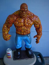 X  LARGE  FANTASTIC FOUR ( THE THING ) FULL BODY STORE DISPLAY STATUE ,,AWESOME