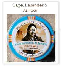 Navajo Medicine Of The People Sage-Lavender & Juniper Calming Lavender - 0.75oz