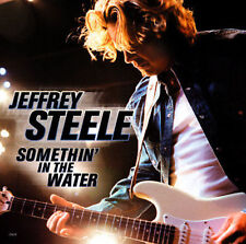 New: Steele, Jeffrey: Somethin in Water / How Long Am I Supposed to Wait Single