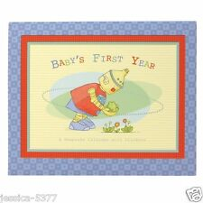 New Boy Baby Bots First Year Calendar by Cr Gibson