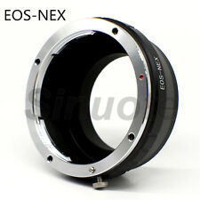 EOS-NEX NEX-3 5 Camera Adapter For Canon EF-S Lens to Sony E-Mount A7R A7 A6000