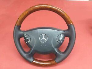 Mercedes-Benz E-Class Avangart W211 E320 E500 Wood Steering Wheel