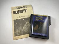 Rare SLURPY by XONOX for ColecoVision Cartridge w/ Manual Tested