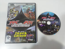 MX VS ATV UNLEASHED ALL NEW TRACK EDITOR THQ - JUEGO PC CD-ROM EDICION ESPAÑA