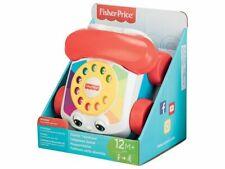Fisher Price Telefon 12M+ Babyspielzeug Plappertelefon Nachziehspielzeug Baby