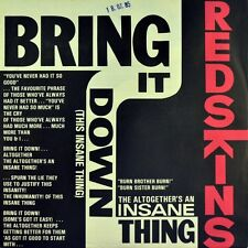 "7"" the Redskins ex no swastikas bring it down Metronome skinhead punk Soul 1985"