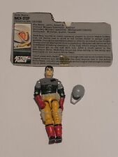 Action Force/GI Joe 1987 BACKSTOP Figure Persuader Driver With Filecard
