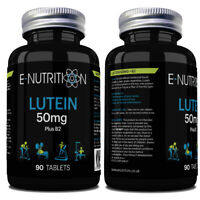 LUTEIN 50mg PLUS VITAMIN B2 90 TABLETS | VISION SUPPORT & EYE HEALTH | VEGAN