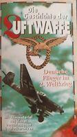 VHS-Kassette Die Geschichte der Luftwaffe Deutsche Flieger im 2.Weltkrieg WW2