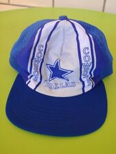 VINTAGE RETRO DALLAS COWBOYS NFL NEW ERA PRO DESIGN USA CAP VISOR HAT